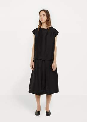 La Garçonne Moderne Formal Slip Skirt Black