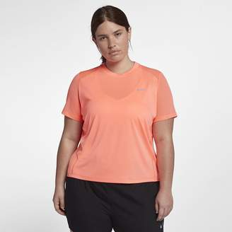 Nike Miler (Plus Size) Women's Short Sleeve Running Top