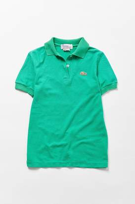 Urban Renewal Vintage Lacoste Green Polo Shirt