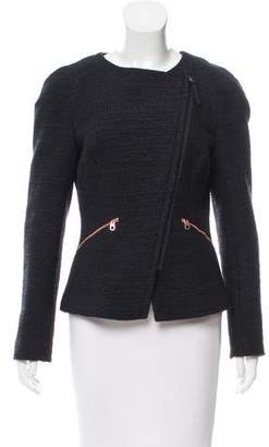 Ted Baker Tweed Zip-Up Jacket