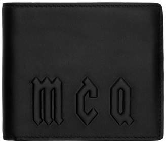 McQ Black Bifold Wallet