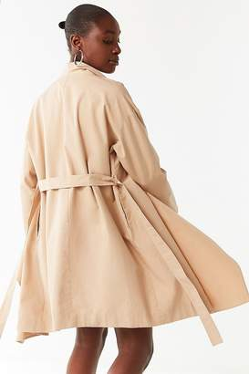 Urban Outfitters Sierra Belted Duster Coat