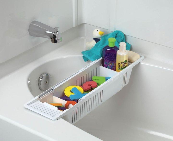 KidCo Bath Storage Basket - White