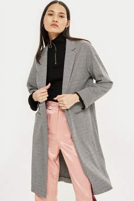 Topshop Jersey Chuck On Coat
