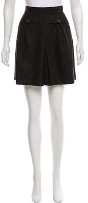 Dolce & Gabbana Virgin Wool Mini Skirt