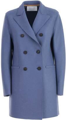 Harris Wharf London Coat Short Double Breasted