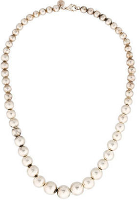 Tiffany & Co. Graduated Bead Necklace $195 thestylecure.com