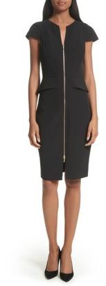 Women's Ted Baker London Architectural Pencil Dress $295 thestylecure.com