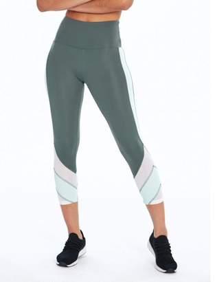 Bally Total Fitness Women's Active Mod Mid Calf 22'' Capri Legging