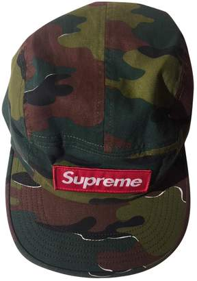 Green Cotton Supreme Hats & pull on hats