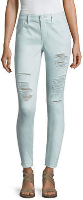 A.N.A Destructed Skinny Denim Ankle - Tall