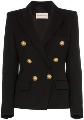 Alexandre Vauthier button detail wool blend blazer