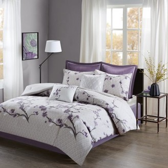 Home Essence Sakura 8 Piece Cotton Comforter Set