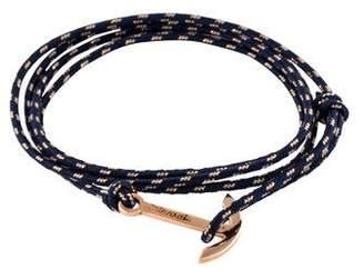 Miansai Anchor Cord Wrap Bracelet