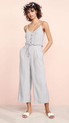 Splendid Yarn Dye Stripe Jumpsuit