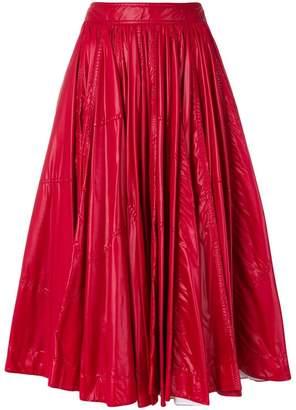 Calvin Klein (カルバン クライン) - Calvin Klein 205W39nyc プリーツ フレアスカート