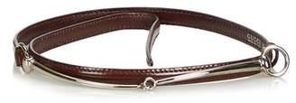 Gucci Vintage Narrow Horsebit Belt