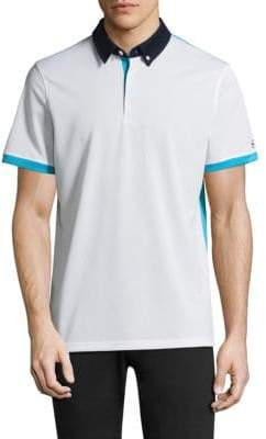 AG Jeans Green Label Deuce Short-Sleeve Polo