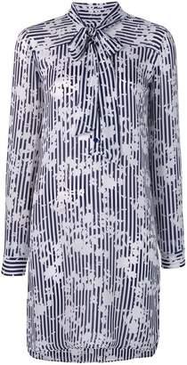 MICHAEL Michael Kors floral-print shirt dress