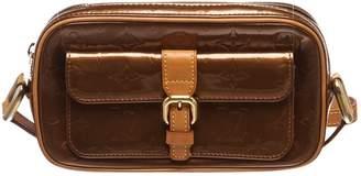 Louis Vuitton Christie patent leather crossbody bag
