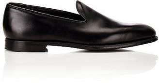 Crockett Jones Crockett & Jones Men's Plain-Toe Loafers - Black