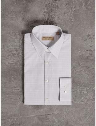 Burberry Modern Fit Geometric Dobby Cotton Shirt