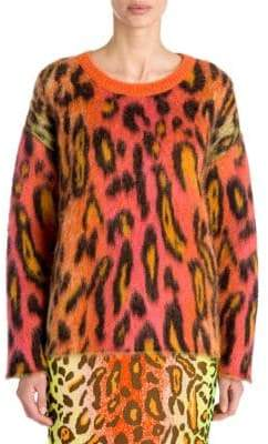 Stella McCartney Leopard-Print Sweater