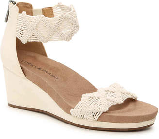 Lucky Brand Kaydyn Wedge Sandal - Women's