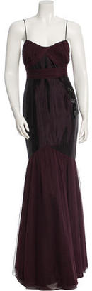 Vera Wang Sleeveless Tulle Gown $135 thestylecure.com