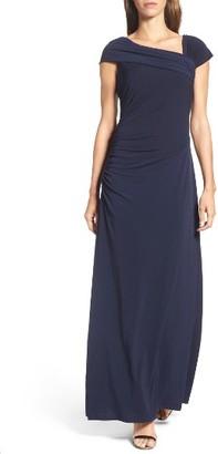 Women's Ellen Tracy Jersey Gown $178 thestylecure.com