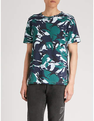 Off-White Camouflage-print cotton-jersey T-shirt