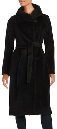 Jones New York Belted Wrap Wool-Blend Coat $380 thestylecure.com