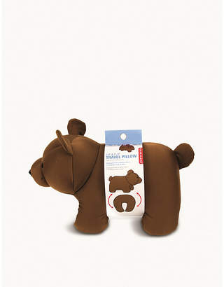 Kikkerland Zip & flip bear head rest