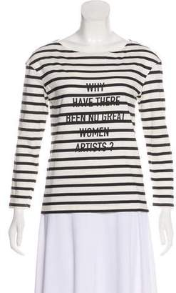 Christian Dior 2018 Striped Top