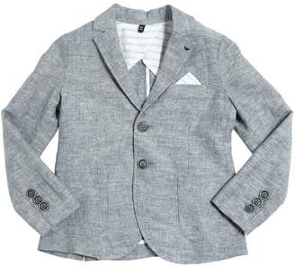 Armani Junior Cotton & Linen Blend Jacket