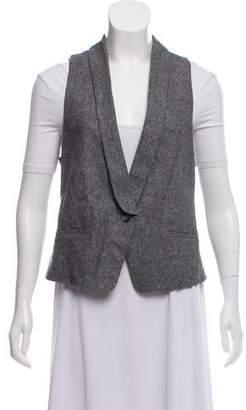 Theory Virgin Wool Knit Vest