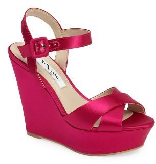 Women's Nina Jinjer Platform Wedge Sandal $88.95 thestylecure.com