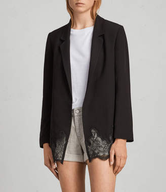 AllSaints Aleida Lace Blazer