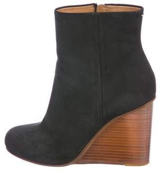 Maison Margiela Nubuck Wedge Boots