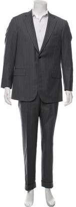 Isaia Wool Pinstripe Two-Piece Suit