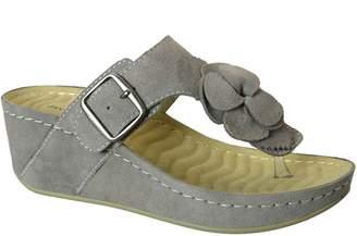 David Tate Leather Thong Sandals - Spring