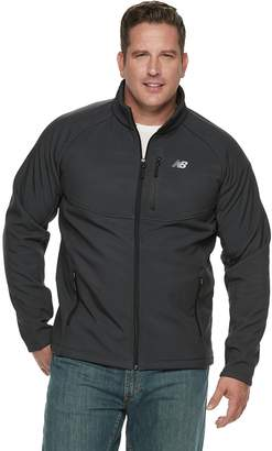 New Balance Men's Sherpa-Lined Hooded Softshell Jacket