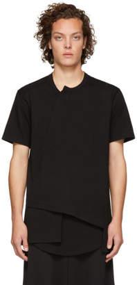 Comme des Garcons Black Asymmetrical T-Shirt