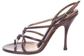 Dolce & Gabbana High-Heel Slingback Sandals