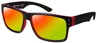 Southpole Men's 5003sp Oxrd Non-Polarized Iridium Rectangular Sunglasses