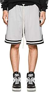 Fear Of God Men's Double-Faced Mesh Drop-Rise Shorts-Gray