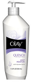 Olay Quench Daily Body Lotion, with Vitamins E & B3
