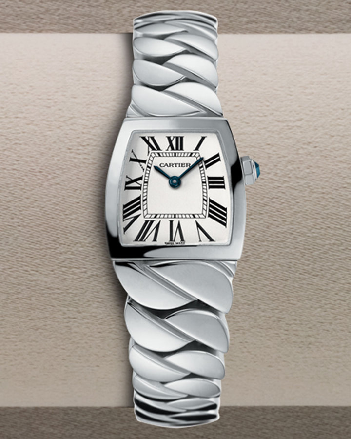 Cartier La Dona Steel Watch, Small