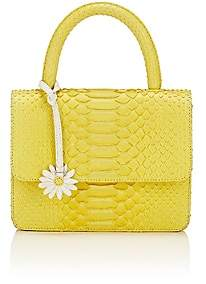 Gelareh Mizrahi Women's Python Top-Handle Satchel - Yellow