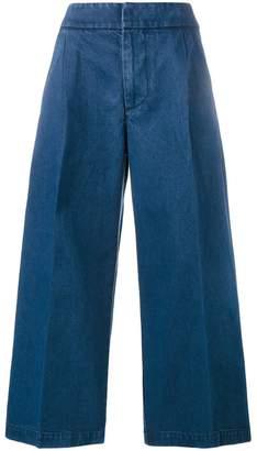 Marni cropped wide-leg jeans